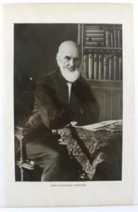 Print of John Greenleaf Whittier, 1916