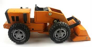 "Mini Tonka Orange Loader 10 1/2"", #52900, c. 1972 - Excellent Condition"