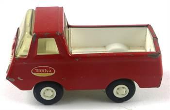 Tiny-Tonka Red Pickup Truck, No. 515, c. 1975, Very Good Condition