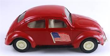 Tonka Red Volkswagen Toy Car #52680, c. 1970