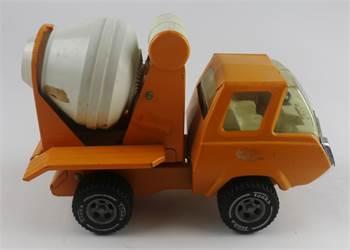 "Tonka Toys Orange Cement Mixer, c. 1972, 8 1/4"", Great Condition"